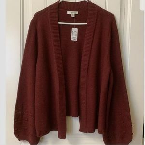 CJ Banks Plus Sweater/Cardigan 2X